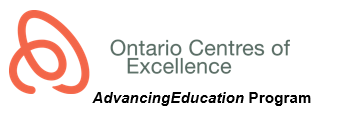 Ontario Centres of Excellence - AdvancingEducation Program Logo